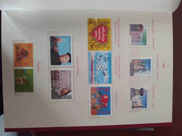 Klaser tom XXV 2004/2005 znaczki Fischer