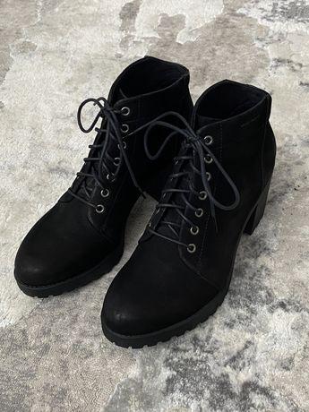 Ботинки на каблуке VAGABOND кожаные
