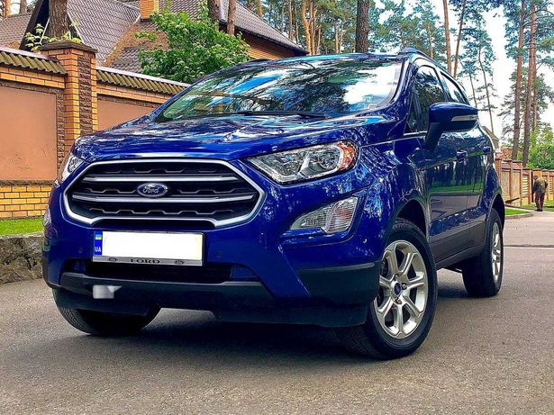 Ford EcoSport All Wheel Drive 2019