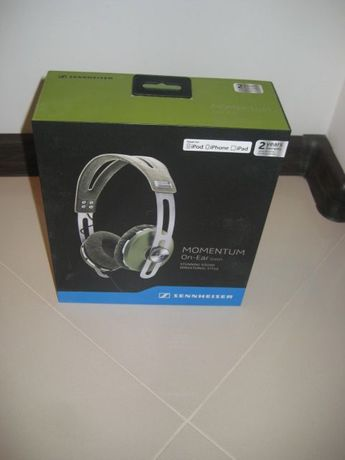 Sprzedam nowe Słuchawki SENNHEISER Momentum On-Ear kolor Green
