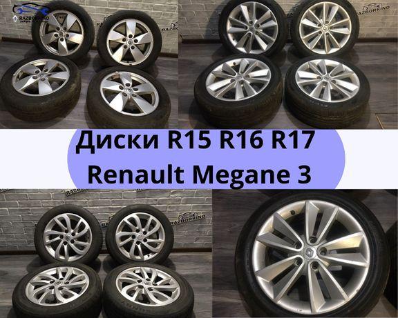 Диски Renault Megane 3 Scenic 3 Рено Меган титаны Колеса 5x114.3 16 17