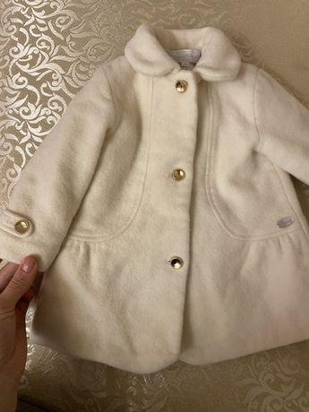 Пальто детское из шерсти дорогого французского бренда Tartine et Choco