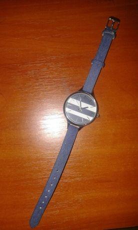 Modny jeansowy zegarek nowy