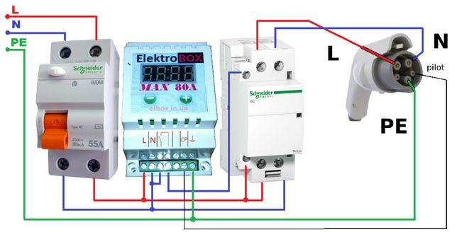 Контроллер для зарядних станцій, альтернатива OpenEVSE