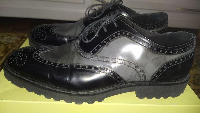 Туфли мужские кожаные новые 44р. Италия (пролет с размером)