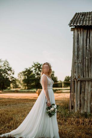 Suknia ślubna ecru Igar