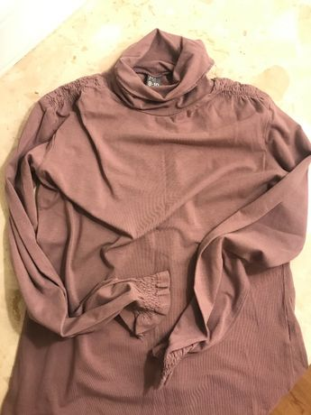 Golfik dziewczęcy , bluzka firmy ZARA 140 cm