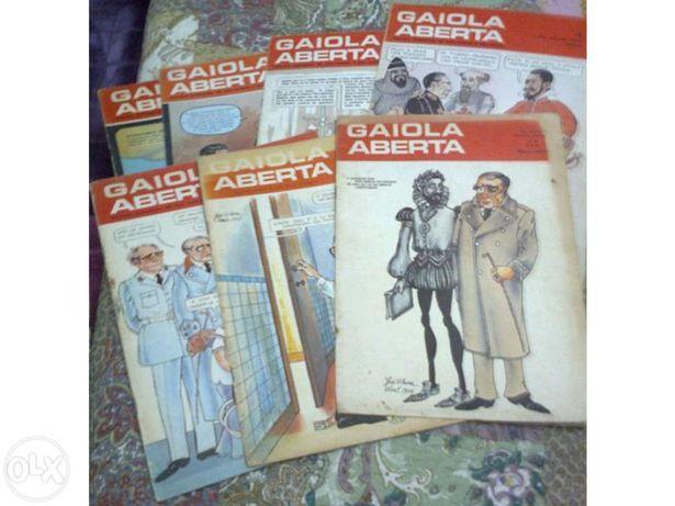 Gaiola aberta, revistas