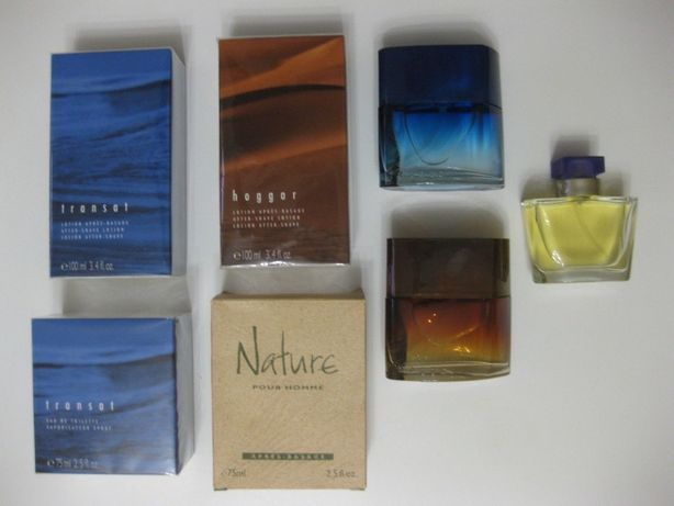 Nature , Eryo , Hoggar EDT by Yves Rocher