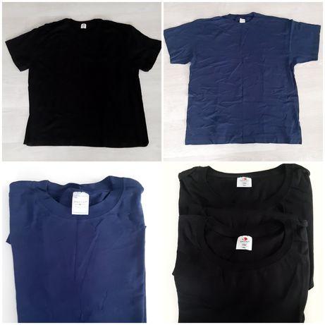 T-shirt 3 szt czarne i granatowy