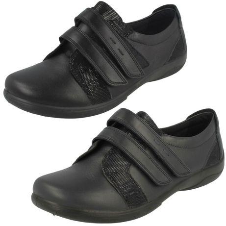 Новые кожаные туфли Padders р.38 Clarks