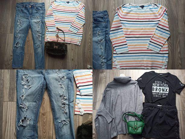 Luksusowa jesienna paka ubrań r.38 Tommy Hilfiger