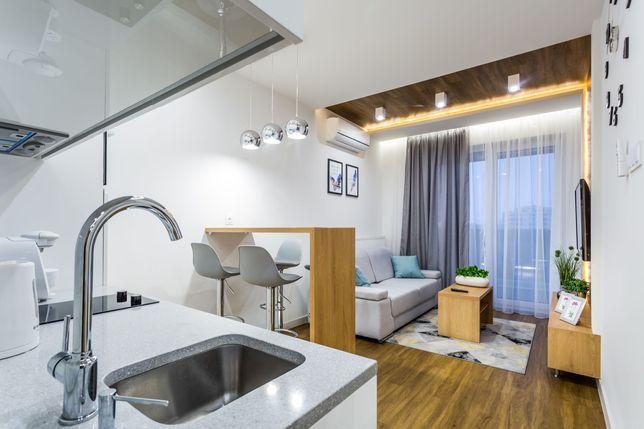 Komfortowy apartament na doby z TV w sypialni w centrum miasta