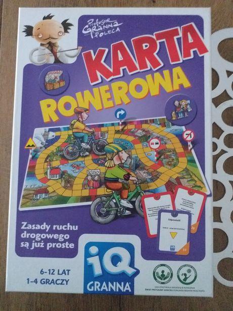 Gra edukacyjna karta rowerowa