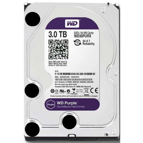 Продам Жесткие диски Western Digital WD Purple 3 TB новые