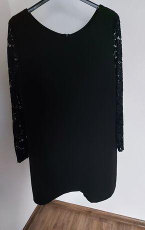 Sukienka  czarna koronka 42 44