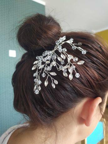 Ozdoba,spinka, grzebyk do włosów, ślub, wesele