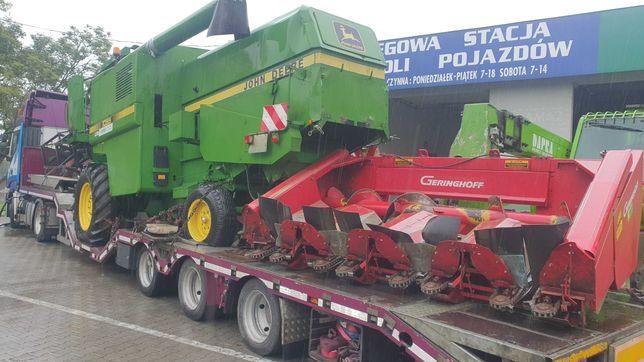 Przystawka do kukurydzy Gerinnghof 4 rzędy