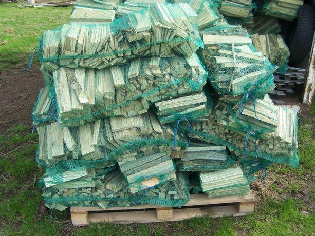 Suche drewno na opał, drewno opałowe drewno workowane