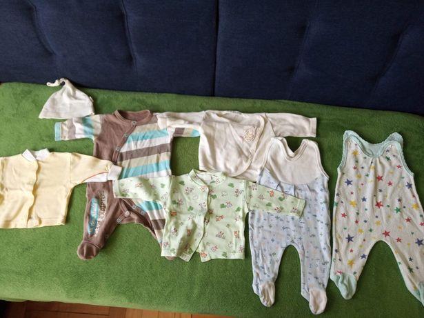 Paka dla niemowlaka, spioszki, body, pajacyki