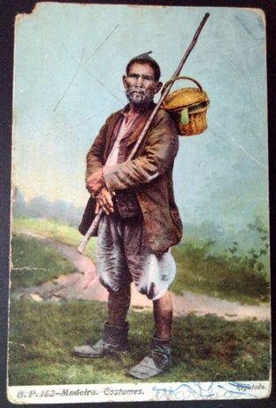 Postal antigo Madeira 1910