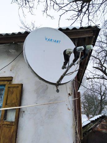 Продам спутниковую антенну variant, с тюнером