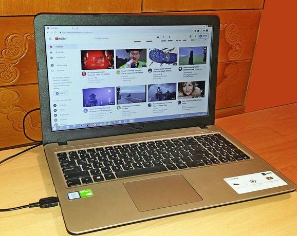 """ноутбук 15` """"Asus X540UB"""" (DM543) 2019, отличное состояние"""