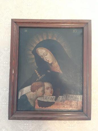Икона,19 век. Масло, полотно. 60×50