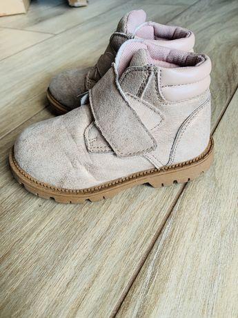 Buty jesienne, beż 24 dziewczynka