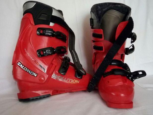 Горнолыжные ботинки salomon evolution 7