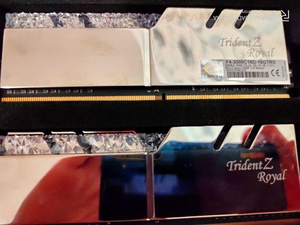 G.Skill DDR4-3000 (2x8GB) Trident Z Royal