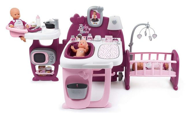 2 ПО ЦЕНЕ 1 Центр Smoby Baby Nurse Прованс комната малыша 220349