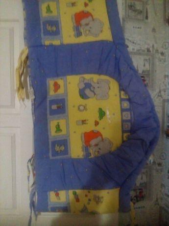 Продам балдахин и защиту на детскую кроватку