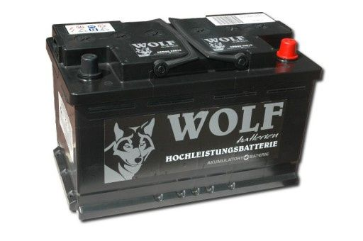 AKUMULATOR 12V 88Ah 850A Akumulatory WOLF Katowice Chorzów Mikołów