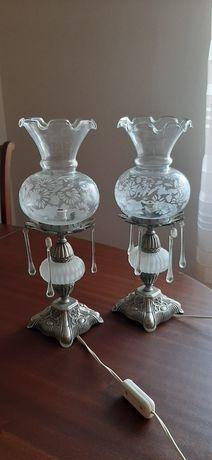 Candeeiros mesa cabeceira vintage