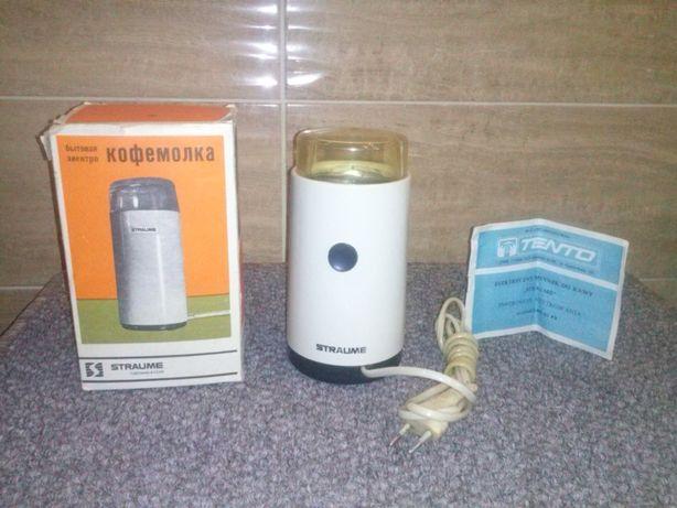 Elektryczny młynek do kawy STRAUME CCCP R 1989 Wysyłka STAROCIE