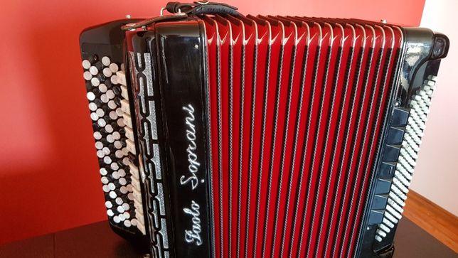 Akordeon Paolo Soprani -120 basów gryf B (Nowa Niższa Cena)