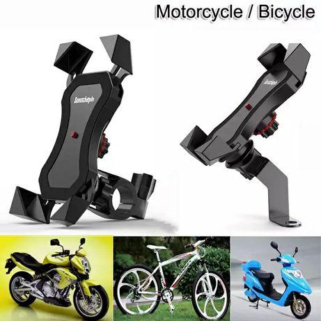 Suporte telemóvel para moto