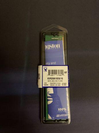 Оперативная память DDR4 16GB 2666 MHz Kingston (KVR26N19D8/16)