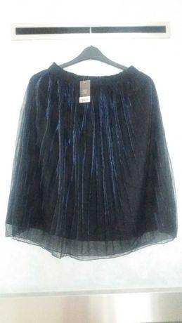 Spódnica tiulowa plisowana rozmiar 38