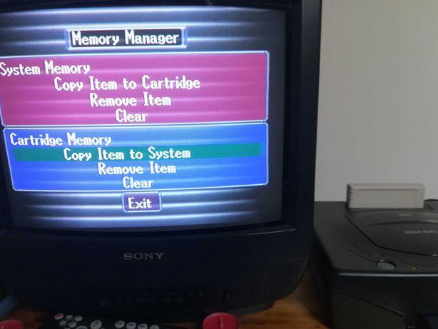 Vendo cartão memória Sega Saturn