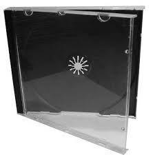 Caixas de CD em plástico