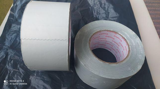 Скотч 50 М Фольгированный алюминиевый армированный 70-100мм (Germany)