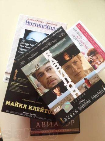 Фильмы на DVD на английском и русском/украинском