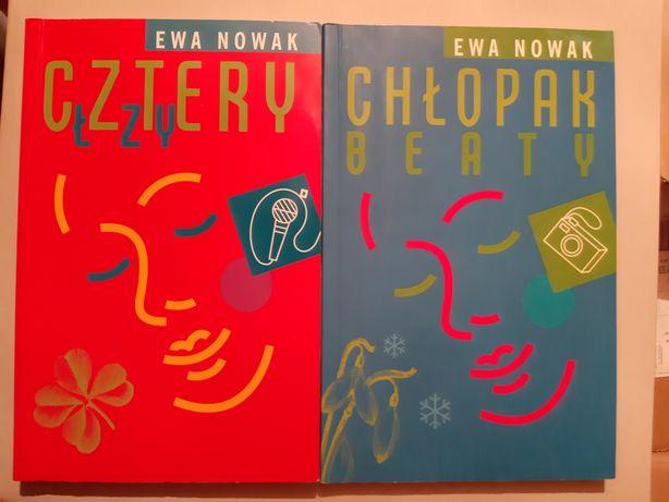 Komplet młodzieżowych książek Ewa Nowak