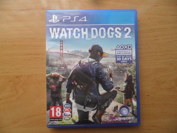 Gra na PS 4 Watch Dogs 2 + gratis