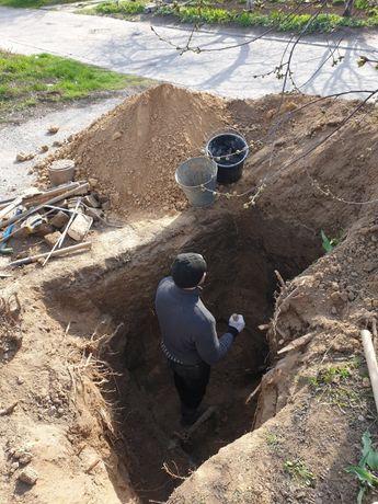 Водопровод, канализация, земляные работы. Пробивка под дорогой. Врезка