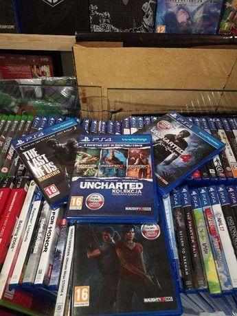 Uncharted 4 Zaginione Dziedzictwo Last of US Uncharted Kolekcja PS4