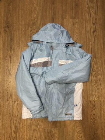 Зимняя  лыжная куртка (унисекс) рост 176см