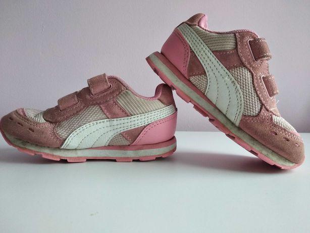 Buty Dziecięce Puma różowe dla dziewczynki, r. 23